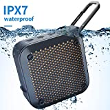 Best Outdoor Shower Bluetooth Speakers - Wireless Portable Bluetooth Shower Speaker - IPX7 Waterproof Review
