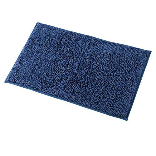 blue bath mat - 4