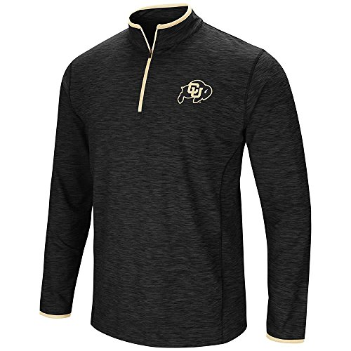Mens Colorado Buffaloes Quarter Zip Wind Shirt - L