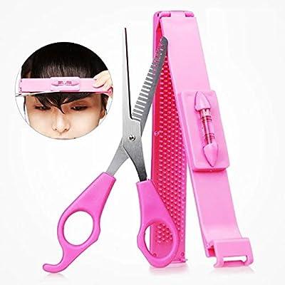 EYX Formula Artifact cut bangs Hair Thinning Scissors,Teeth Hair Shears DIY Hair Band Hair Cutting Tool kit