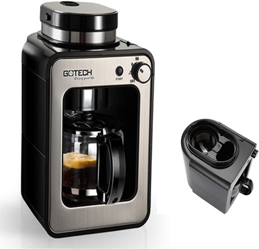 Molinillo de café de un solo toque, de grano a taza, con cafetera de temporizador, detergente, detergente, pastillas de limpieza, cafetera con espuma de leche, cafetera con vainas, cápsula: Amazon.es: Hogar