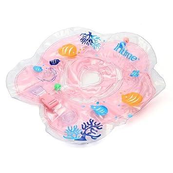 Crazo Flotador para el cuello bebe Seguridad en Piscina Bañera