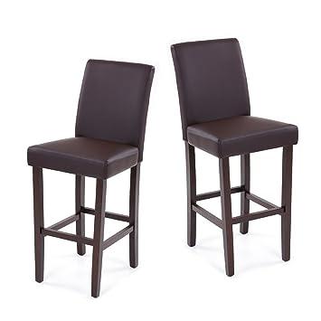 isremi (TM) ikayaa Reino Unido Bar Pub de piel sintética sillas de ...