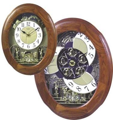 Rhythm Clocks Nostalgia Oak Legend - Model #4MH833WB06