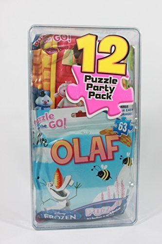 Disney Puzzle Party 12 Pack by Cardinal Industries Inc