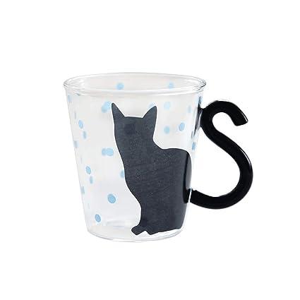 Taza de café Creativo Japonés Lindo Gato Taza de Desayuno Taza de Leche Taza de Agua ...