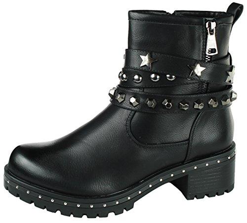 Mevina Women's Chukka Boots Black