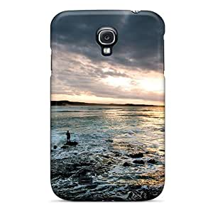Shock-dirt Proof The Beach At Sunset Case Cover For Galaxy S4