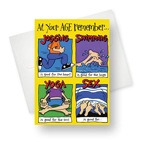 Northern Cards - Good for (Birthday) Premium Quality Greeting Card with Unique Funny Design - for Adults - 5.5