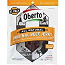 Oberto All Natural Original Beef Jerky, Extra-Large, 10-Ounce Bag