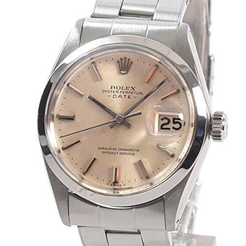 [ロレックス]ROLEX 腕時計 オイスターパーペチュアルデイト 1500 2番 中古[1300731] 2番 シルバー B07DPCCZCV