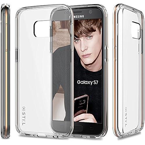 Galaxy S7 Case, Fashion Case STIL [HYBRID CLEAR] [PAVIS Series] CLEAR / Slim Case / Hard Case Sales