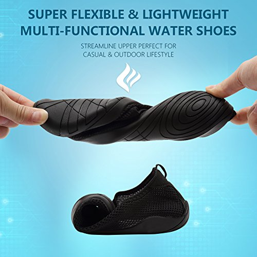 Lake Drainage Womens Sports Garden Men Swim Yoga Walking Driving Water Quick Barefoot 14 Shoes Beach Park Aqua Zy For CIOR blue With Holes Dry A4Tq5P