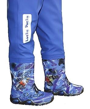 Verstellbare Taille 9 Modelle Separator Harness Matschhose Lucky Ducky Kinder Wathose Kinderwathose Pro
