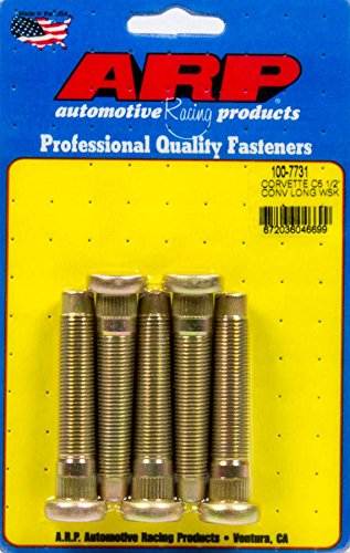 ARP 100-7731 Wheel Stud Kit (5pkC5 Corvette 1/2-20 Conv.)