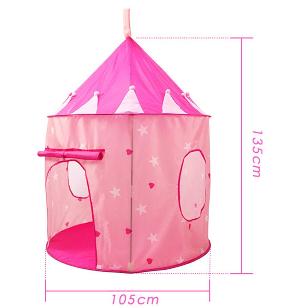 Rosa Seilent Princess Castle Play Tent per Principessa o Principe Indoor e Outdoor Play House