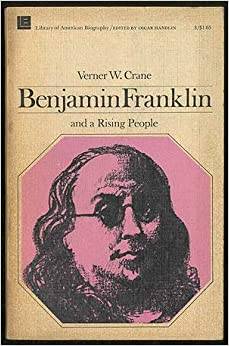 Book Benjamin Franklin and a Rising People