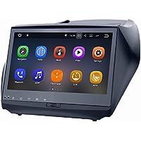 SYGAV Android 7.1.1 Car Stereo for 2011-2016 Hyundai IX35 Touch Screen 9 Inch Radio 2G Ram GPS Sat Navigation Head Unit Bluetooth FM/AM/RDS/WiFi/USB/SD/Mirrorlink