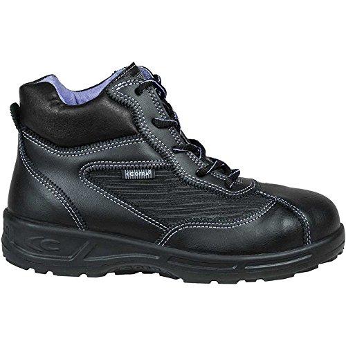 Cofra 76540�?00.w41Frauen Schuhe, Brigitte, Größe 7,5, Schwarz