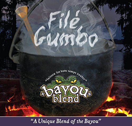 Bayou Blend Cajun Style Gourmet Beef Jerky - Includes 1.5 oz of Melange Original, 1.5 oz of Luziana Bonfire (Spicy Hot), 1.5 oz of File Gumbo (Tester Pack Total of 4.5 Oz)