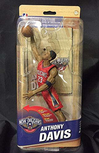 New Orleans Pelicans NBA Series 27 Action Figure: Anthony Davis (Silver Level Variant)