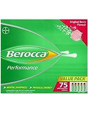 Berocca Energy Vitamin, Original Berry - 75 Effervescent Tablets