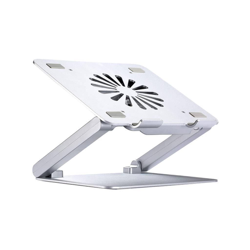 Aluminum Lift Desktop with Fan USB Expansion Radiator Folding Laptop Heightening Bracket (Size : 4 USB Ports)