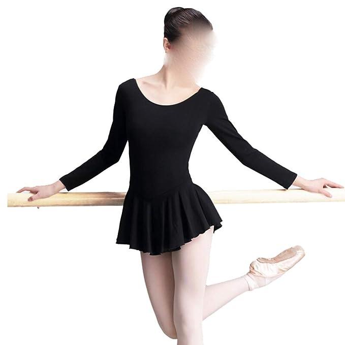 Zhao Li Ropa de Baile Adulto Otoño e Invierno Espesor Mono Falda ...