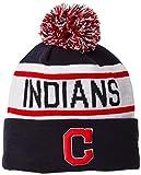 MLB Cleveland Indians New Era Biggest Fan Redux Knit Beanie, One Size, Blue