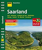 ADAC Wanderführer Saarland plus Gratis Tour App: Perl Mettlach Losheim am See Nohfelden Merzig Lebach St.Wendel
