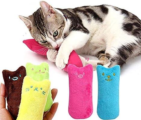 LLYU Juguetes para Gatos, Limpieza de los Dientes del Gato ...