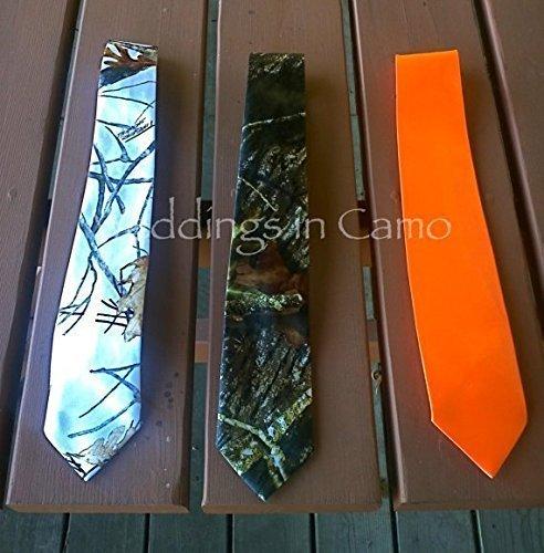 MENS CAMO TIES Regular ties