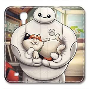 JHFHGVH Leather Case for Samsung galaxy S4, Baymax Ultimate Protection Leather Case for Samsung galaxy S4