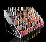 1-Pcs Pleasantness Popular Hots Nails Polish Organizers Cube Box Storage Makeup Lip Gloss Display Color Transparent 5 Tier Style #08