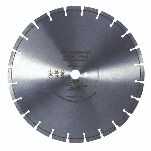 Husqvarna 542773838 High Pro Cured Concrete Diamond Blade, 20-Inch X .125-Inch - Cured Concrete Diamond Blade