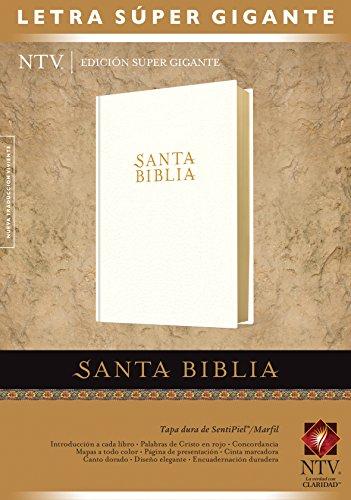 (Santa Biblia NTV, Edición súper gigante (Letra Roja, SentiPiel, Marfil, Índice) (Spanish Edition))