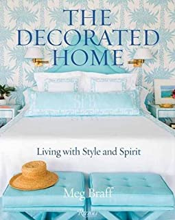 Book Cover: The Decorated Home: Living with Style and Joy