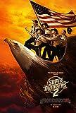 Super Troopers 2 Movie Poster Limited Print Photo Jay Chandrasekhar, Kevin Heffernan, Steve Lemme Size 27x40 #1