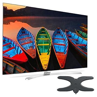 "LG 65UH9500 65"" Class UH9500 Series 4K Super UHD Smart TV with Mohu Sky 60 HDTV Outdoor Antenna"