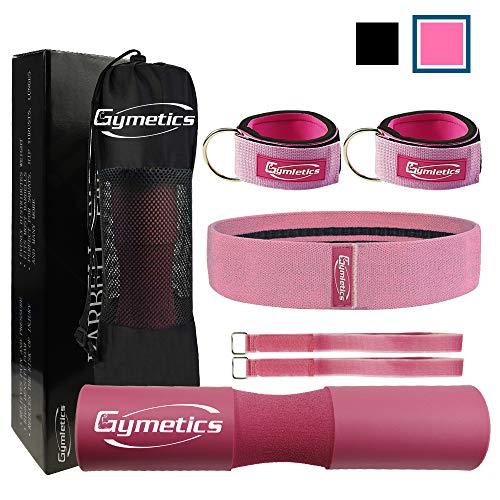 Gymletics 7 Pack Barbell Squat...