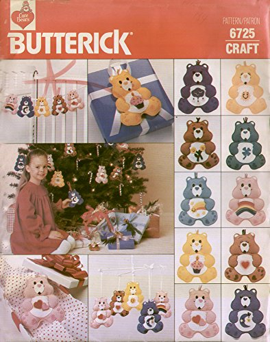 60s Love Child Man Costumes (Butterick Craft Pattern 6725 - Care Bear)