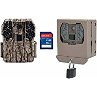 Stealth Cam Z36 No Glo 60 10MP IR Trail Game Camera w/ Security Box & SD Card