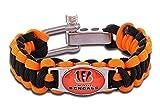 Cincinnati Bengals Paracord Bracelet