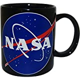 CityDreamShop NASA Space Station Black Coffee mug