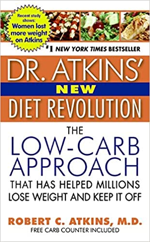 Amazon | Dr. Atkins' New Diet Revolution | Robert C. Atkins M.D. ...