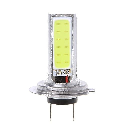 Potencia COB H7 12V Alta BIlinli 20W Blanco LED Conducción lFTK1Jc3