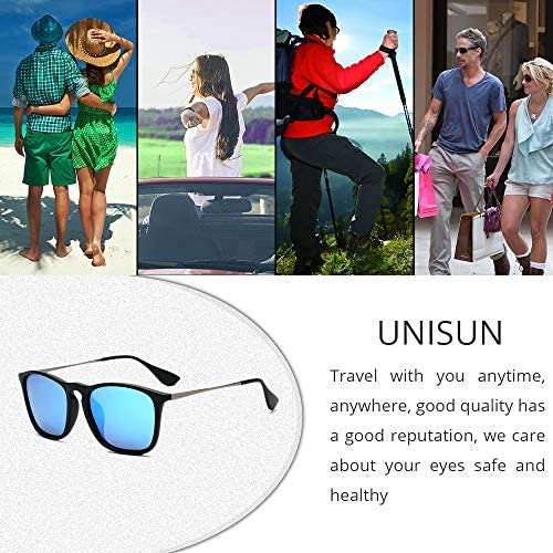 Classic Sunglasses for women, Round/Square Retro Man Polarized Sunglasses uv Protection Aviator Mirrored Sun glasses