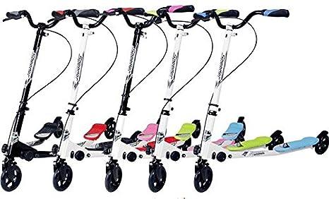 Nuevo movimiento niños 3 Rueda Tri Speeder patinete de alado ...