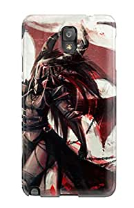 Excellent Design Women Warrior Phone Case For Galaxy Note 3 Premium Tpu Case