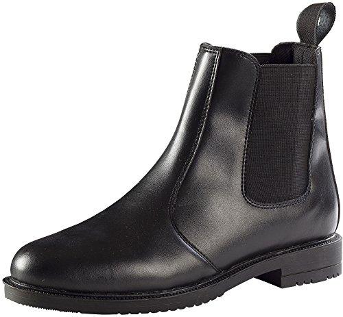 Symantec, Stivali da equitazione uomo nero 39